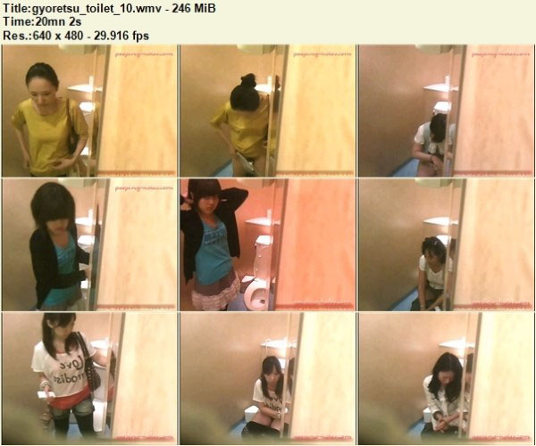 gyoretsu_toilet_10 – Peeping-Holes Free Download, Japanese Toilet Voyeur, Toilet Hidden Cam, Asian Voyeur Video