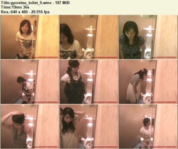 Gyoretsu Toilet9 – Peeping-Holes Free Download, Japanese Toilet Voyeur, Toilet Hidden Cam, Asian Voyeur Video