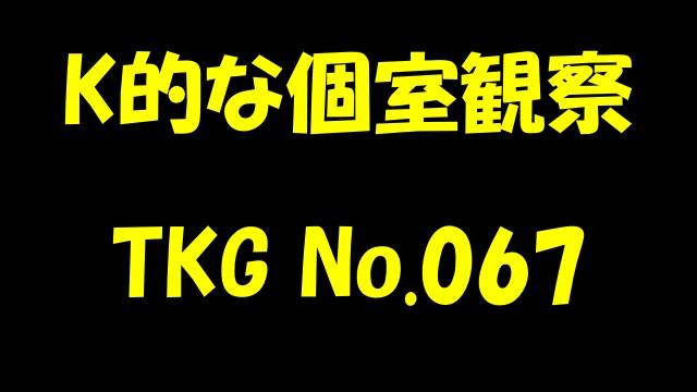 K的な個室観察 TKG No.067