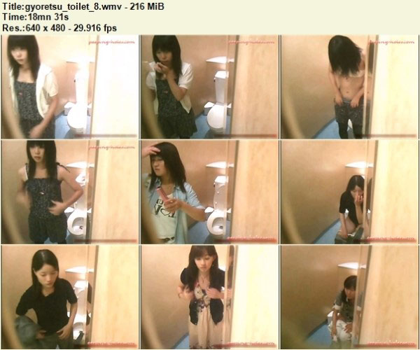 Gyoretsu Toilet 8 – Peeping-Holes Free Download, Japanese Toilet Voyeur, Toilet Hidden Cam, Asian Voyeur Video