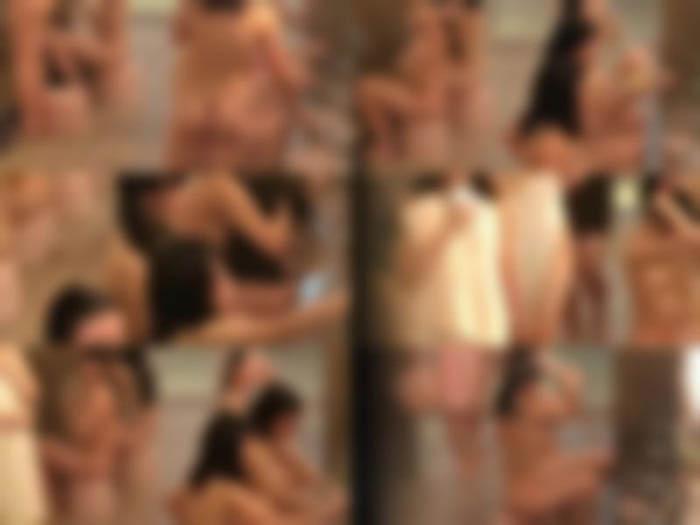 【修学旅行】cuteガールたちの大浴場【①②セット】